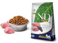 Granule pro psy N&D Natural Delicious Grain Free Dog Adult Mini Lamb & Blueberry 2,5 kg