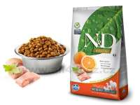 Granule pro psy N&D Natural & Delicious GRAIN FREE Dog Adult Medium Fish & Orange 2,5 kg