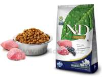Granule pro psy N&D Natural Delicious Grain Free Dog Adult Medium Lamb & Blueberry 2,5 kg