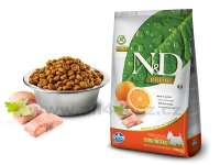 Granule pro psy N&D Natural Delicious GRAIN FREE Dog Adult Mini Fish & Orange 7 kg