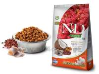 Granule N&D Grain Free Quinoa DOG Skin & Coat Herring & Coconut 2,5 kg