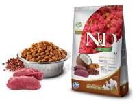 Granule N&D Grain Free Quinoa DOG Skin & Coat Venison & Coconut 2,5 kg
